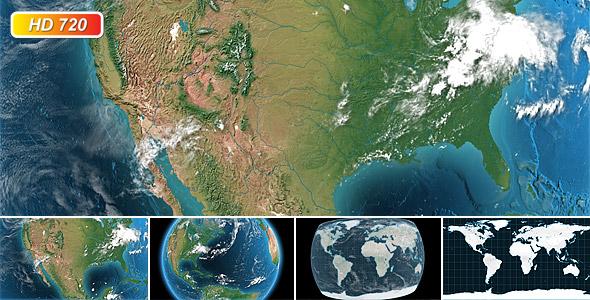 Digital earth globe by kurbatov videohive digital earth globe sciox Gallery
