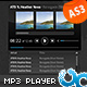 MP3 Player with Playlist and Album Art 06 AS3