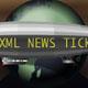 News TIcker Blimp
