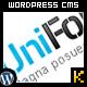 UniFolio Premium CMS work show case Template 6-1 - ThemeForest Item for Sale