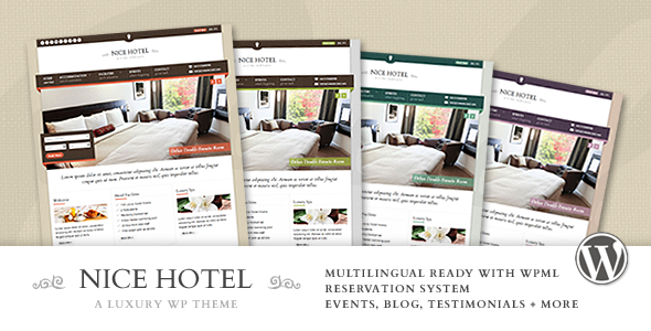 Nice Hotel - WordPress Theme by quitenicestuff | ThemeForest