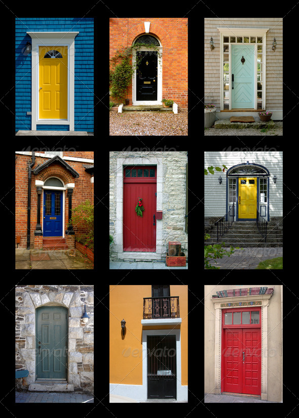 Residential Front Doors residential front doors stock photopichunter | photodune