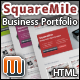 SquareMile - Business Portfolio HTML Template - ThemeForest Item for Sale