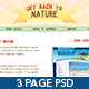 Get Back To Nature - Photoshop - ThemeForest Item for Sale