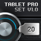 Tablet/Phone User Interface PROFESSIONAL SET V. 2