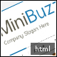Minibuzz - Clean Minimalist Business HTML Template - ThemeForest Item for Sale