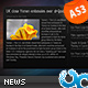 Resizable News Reader with List AS3