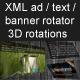 XML 1textl biểu ngữ quay rotator