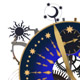 Stellar Analog Clock