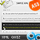 Advanced Flash Quiz XML AS3