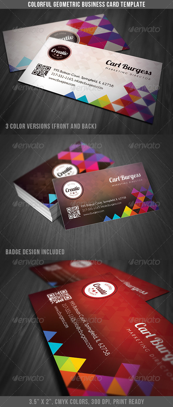 Template Of Business Cards