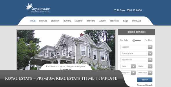Royal estate premium real estate theme by premiumlayers royal estate premium real estate theme by premiumlayers themeforest pronofoot35fo Image collections