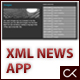 XML, HTML and CSS News Application
