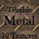 10 Tileable Metal Texture Patterns