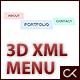 3D XML Menu