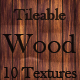 10 Tileable Wood Texture Patterns