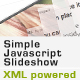 Simple Javascript XML Slideshow - CodeCanyon Item for Sale