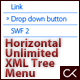Horizontal Sliding Unlimited XML Tree Menu