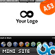 Advanced Coming Soon Website Template 06 AS3