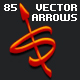 85 Vector Editable Arrows - GraphicRiver Item for Sale