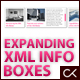 EXPANDING XML INFO BOXES