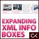 EXPANDING XML INFO BOXES