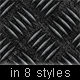 Metalic Steel Background in 8 Styles