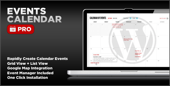 Events Calendar Pro