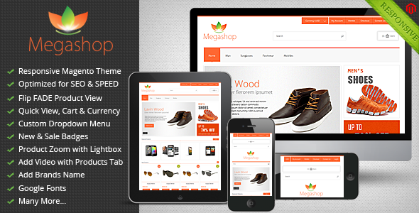 Megashop - Responsive Magento Theme by koolthememaster | ThemeForest