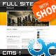 Robust Business &#38; Portfolio Template w CMS &#38; SHOP