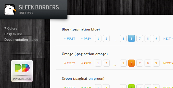CSS Pagination Pack