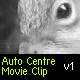 Auto centre movie clip on the stage