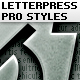 Letterpress Text Pro Style - GraphicRiver Item for Sale