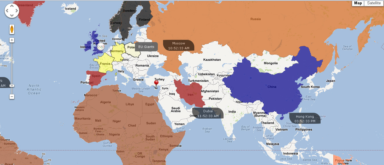 Google Maps With Clickable Countries By Eddjusted Codecanyon