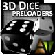 3D Dice Preloaders