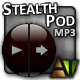 The Stealth Pod MP3 Player