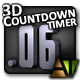 3D Countdown Timer