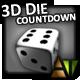3D Die Countdown