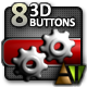Eight 3D Buttons