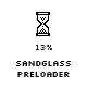 Sandglass preloader
