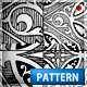 Premium Black & White Vintage Pattern Photoshop .pat