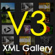 Dynamic xml image gallery V3