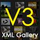 Dynamic xml image gallery V3