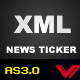As3.0 Dynamic xml news ticker