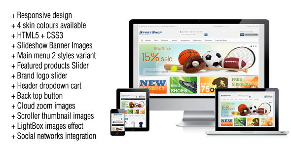 SportShop - Responsive Magento Theme by Plaza-Themes | ThemeForest