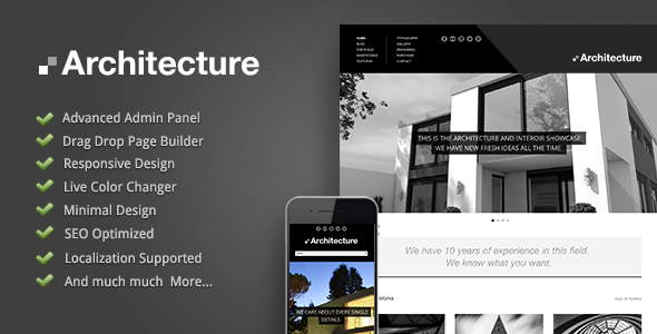 Architecture wordpress theme by goodlayers themeforest for Architecture wordpress