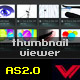 Dynamic unlimited xml thumbnails viewer