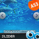 Rotating Slider with Background Effect AS3