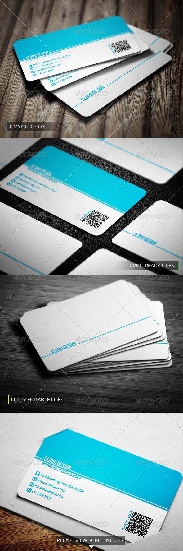 Business Card Printer Template