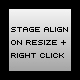 Center Ease + Stage Alignment + Right Click Menu